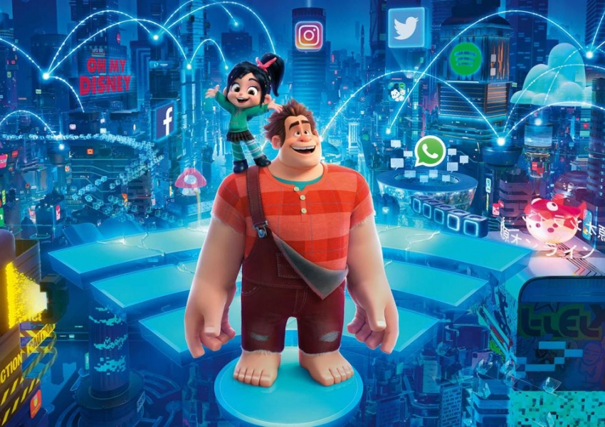 Ралф разбива интернета | Ralph breaks the Internet